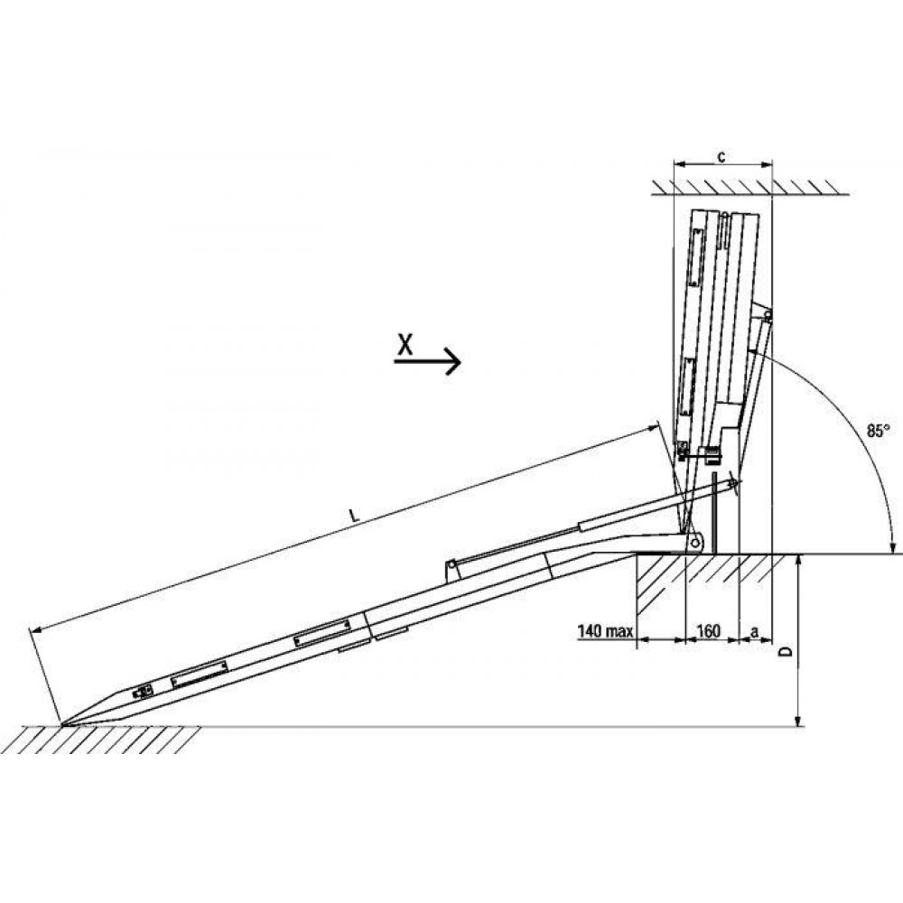 Bästlein GmbH » Auffahrrampe Alu L 2400 x B 1000 mm 4367038575